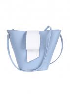 Túi Bucket ( xanh trắng)