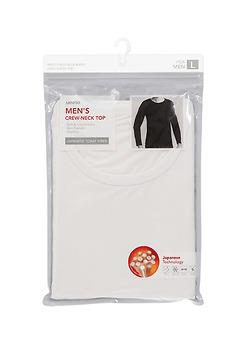 Áo dài tay nam (trắng- size L)