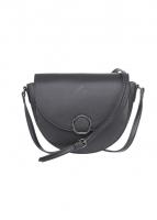 Túi đeo chéo hình bán nguyệt (đen)
