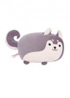 Gối hình chó Husky (tím)
