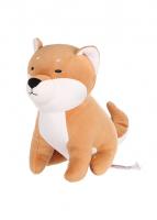 Chó Shiba dáng ngồi nhồi bông ( nâu)