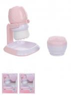 Bàn chải rửa mặt ( kèm giá đỡ và 1 đầu chải silicon thay thế)