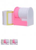 Set băng keo giấy sáng tạo ( hồng)