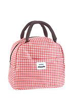 Túi đựng hộp cơm kẻ caro (red) 149524