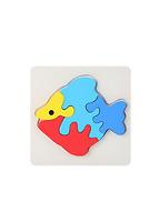 Đồ chơi ghép hình cá gỗ 164916