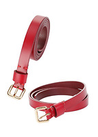 Thắt lưng da nữ (Wine Red) 162722