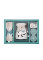 Bộ dụng cụ đốt tinh dầu thơm ( Lily & Jasmine ) 113031