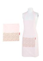 Tạp dề hoa (Pink)  300012