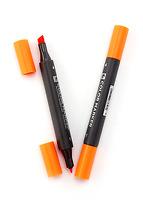 Bút đánh dấu 2 đầu loại A (Màu cam)  838569
