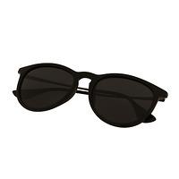 Kính râm nữ TR ( đen+mắt kính xám) 301217