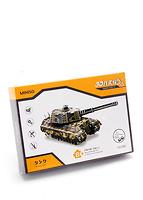 Mô hình lắp ráp 3D - xe tăng quân sự 900229