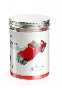 Đất sét 3D (Red Car) 005043