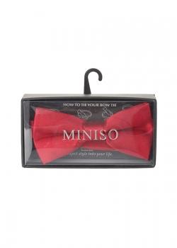 Nơ đeo cổ áo nam (Wine Red) 383712